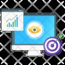 Target Market Seo Monitoring Seo Goal Icon