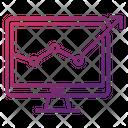 Seo Monitoring Web Icon