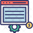 Seo Optimization Web Configuration Web Development Icon
