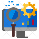 Seo Optimization Marketing Technology Icon