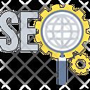 Seo Optimization Web Icon