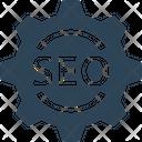 Seo Gear Development Icon