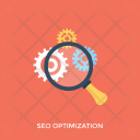 Seo Optimization Search Icon