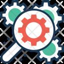 Seo Cog Magnifier Icon