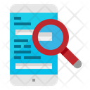 Search Smart Phone Icon