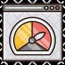 Seo Performance Web Icon
