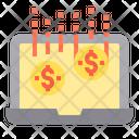 Profit Dollar Performance Icon