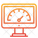 Seo Performance Performance Meter Icon
