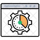 Web Page Speed Icon