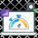 Web Speed Test Web Optimization Web Dashboard Icon