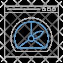 Performance Optimization Web Icon