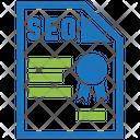Seo Qualifications Seo Optimization Icon
