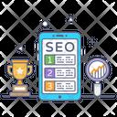 Seo Ranking Icon