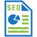 Seo Report Seo Graph Report Icon