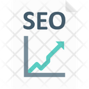 Graph Report Seo Report Ranking Report Icon
