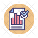 Seo Report Seo Analysis Graph Report Icon