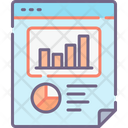 Mseo Report Seo Report Analysis Report Icon