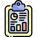 Seo Report Analysis Monthly Reporting Icon