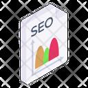 Seo Analytics Data Analytics Seo Report Icon