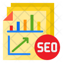 Seo Report Report Management Icon