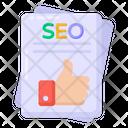 Seo Feedback Seo Report Seo Review Icon