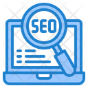 Seo Search Icon