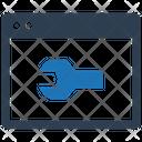 Optimisation Seo Service Webpage Icon