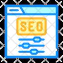 Seo Settings Color Icon