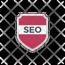 Seo Shield Badge Icon