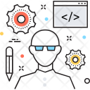 Seo Expert Developer Icon