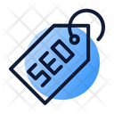 Seo Tag Strategy Icon