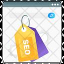 Seo Tag Meta Tag Marketing Tag Icon