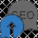 Seo Talk Icon