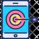 Seo Target Target Success Icon