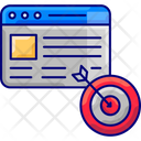 Seo Targetingm Seo Targeting Advertising Icon