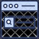 Seo Webpage Web Icon