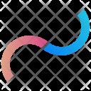 Half Circles Logogram Icon