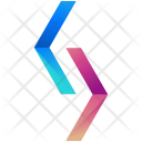 Separated Diamond Pointers Icon