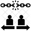 Separation Independent Freedom Icon