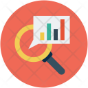 Serach Analysis Profit Icon
