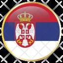 Serbia Srb Europe Icon