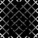Army Chevron Emblem Icon