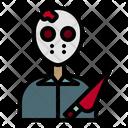 Serial Killer Murderer Killer Mask Icon