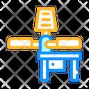Serigraphy Equipment Pressing Icon