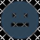 Serious Emoji Icon