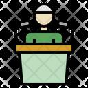 Sermon Imam Declaration Icon