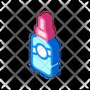 Serum Bottle Isometric Icon