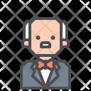 Servant Attendant Butler Icon
