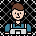Housekeeping Maid Icon