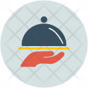 Serve Tray Dinner Icon